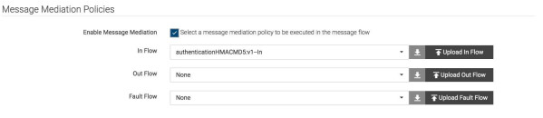 Message Mediation Policies